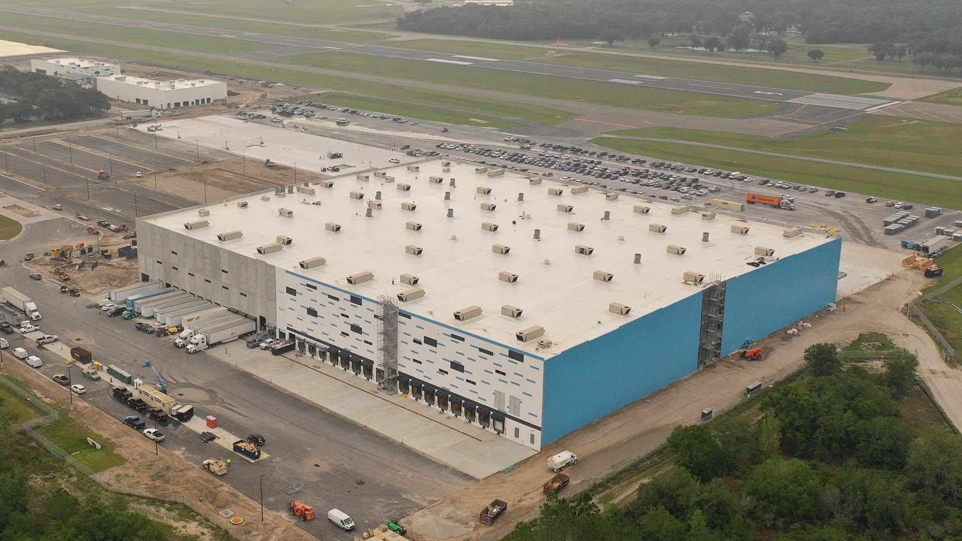 Amazon Air Facility Lakeland Linder Airport