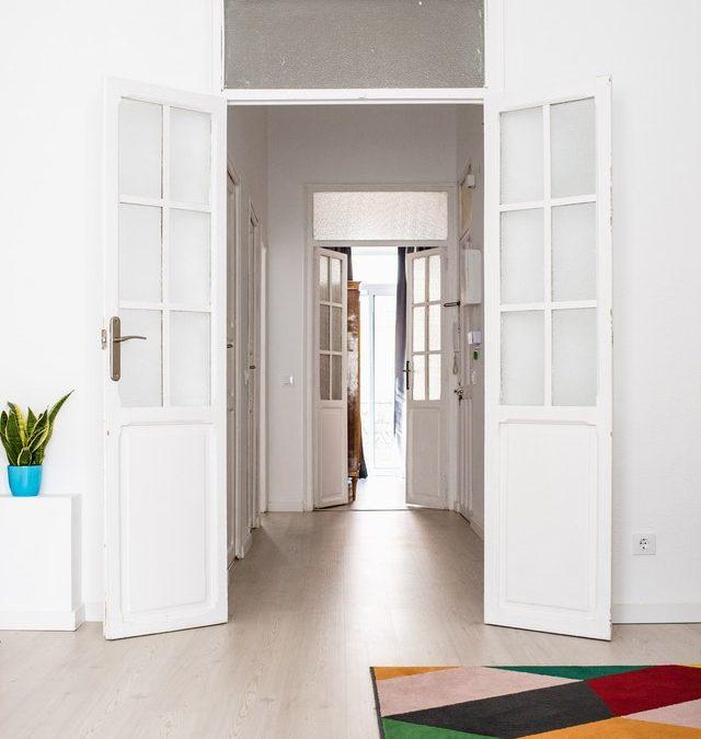 new years tradition doors open