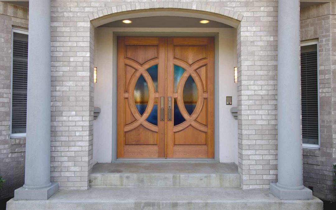 Using Glass to Customize Your Door